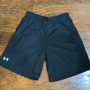 Under Armour gym shorts size large